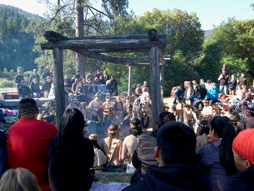 Yurok Brush Dance